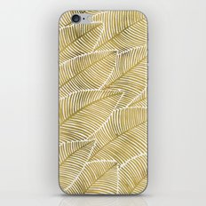 Tropical Gold iPhone & iPod Skin
