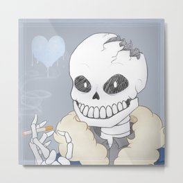 You Act Like You've Seen A Ghost Metal Print