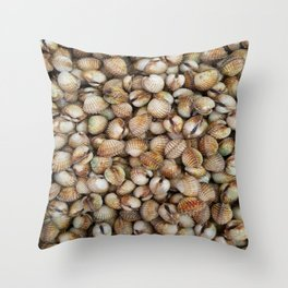 COCKLES Throw Pillow