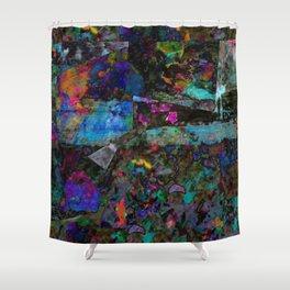 pattern six Shower Curtain