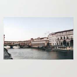 Ponte Vecchio in Florence Rug