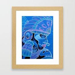 Coyolxauqui Framed Art Print