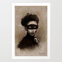 Dark Victorian Portrait Series: Mother Hecate Art Print