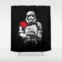 trooper Shower Curtains featuring Trooper by Rafal Rola