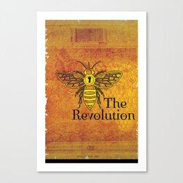 Bee the Revolution Canvas Print