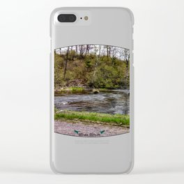 Back-Road Creek Clear iPhone Case
