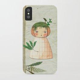 Herbs paperdolls iPhone Case