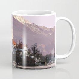 Lake Bled, Slovenia Artwork Coffee Mug