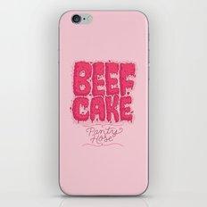 Beef Cake iPhone & iPod Skin