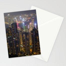 Hong Kong Skyline Stationery Cards