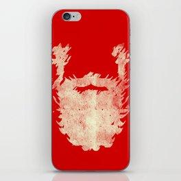 Santa Beard 2 iPhone Skin