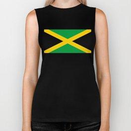 Flag of Jamaica Biker Tank