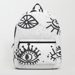 Evil Eyes - symbol of protection Backpack