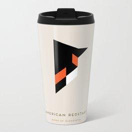 American Redstart Metal Travel Mug