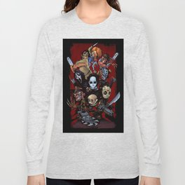 Horror Guice Long Sleeve T-shirt