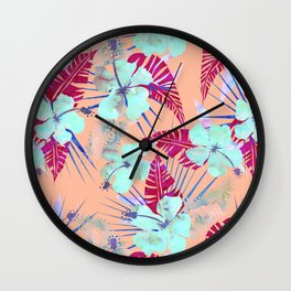 Lani Kai Tropical {G} Wall Clock