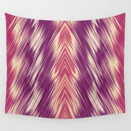 stripes wave pattern 8v1 colsh Wall Tapestry