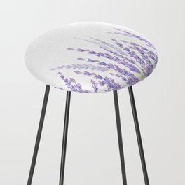 Lavender in the Field Counter Stool