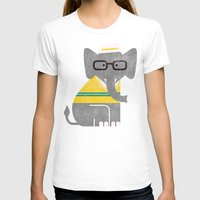 preppy T-shirts featuring Rodney the preppy elephant by Picomodi