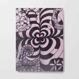 Doodle1 Metal Print