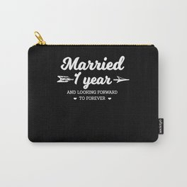 Married since 1 year! Carry-All Pouch