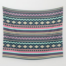 Colorful Aztec Tribal Pattern Wall Tapestry