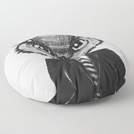 In Search of Wisdom (A Portrait of Perseverance) Floor Pillow