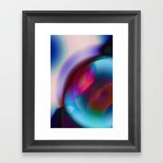 Color Vortex I Framed Art Print