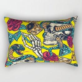 Yellow Snake  Rectangular Pillow