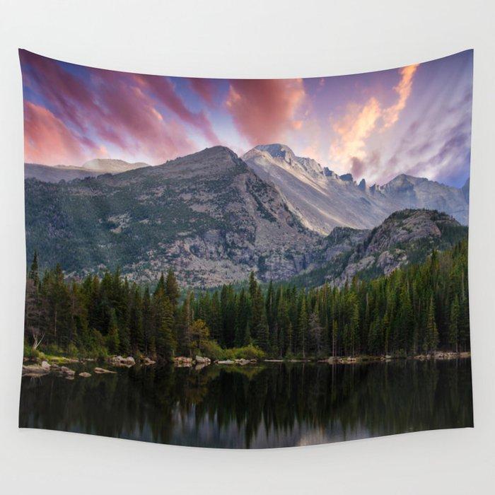 Colorado Rockies Wallpaper: The Colorado Rockies Wall Tapestry By
