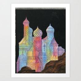 Crystal City 08-15-10a Art Print