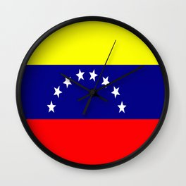 Flag of Venezuela Wall Clock
