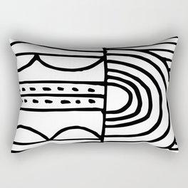 dream of morning Rectangular Pillow