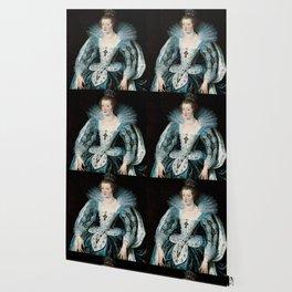 Royal Portrait Queen Anna Wallpaper