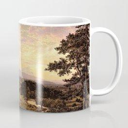 View Near Stockbridge, Massachusetts by Frederic Edwin Church Coffee Mug