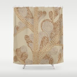 earthy swirls Shower Curtain