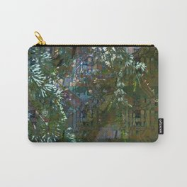 Grunge Forest Plaid Carry-All Pouch