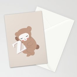 Waiting for Z Stationery Cards