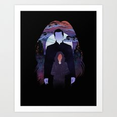 Alias Investigation Art Print