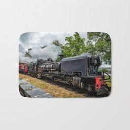 Steam Locomotive Bath Mat