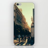 madrid iPhone & iPod Skins featuring Madrid by Mario Pantoja