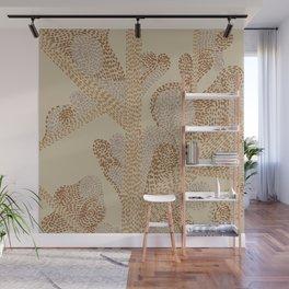 earthy swirls Wall Mural