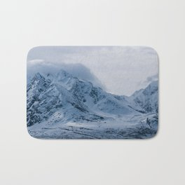 light mood in the mountains nord norwey Bath Mat