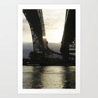 Morning Glare Art Print