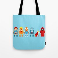 thundercats Tote Bags featuring Thundercats by Pixel Icons