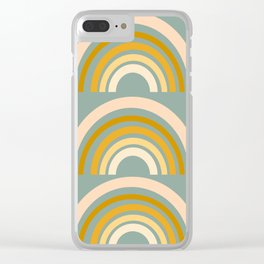 Autumn Rainbows Clear iPhone Case