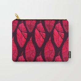 Red velvet leaves Carry-All Pouch