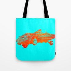 Orange Lowrider Tote Bag