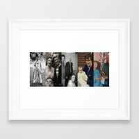 dad Framed Art Prints featuring Dad by Shalisa Photography