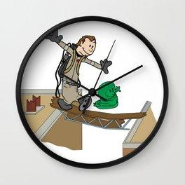 Slimer and Venkman Wall Clock